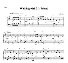 $1.50 Harp Music: Walking with My Friend