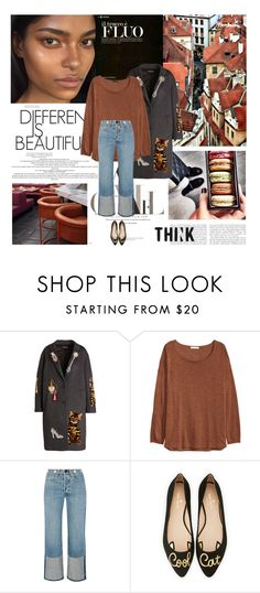 """01/10/2016"" by dunoni ❤ liked on Polyvore featuring Dolce&Gabbana, H&M, rag & bone and Kate Spade"