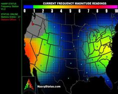 Nearly the entire East coast of America as far West as the New Madrid fault line is now under HAARP attack with frequency magnitude readings in the 5 to 7 range. Additionally, the Induction Magnetometer readings for the Gakona, Alaska HAARP facility are off the charts. What do they have planned? Warming us up for severe weather or something more sinister? For anyone new to HAARP, the excellent 10 minute video below will get you caught right up to speed. My other question; why is the station…