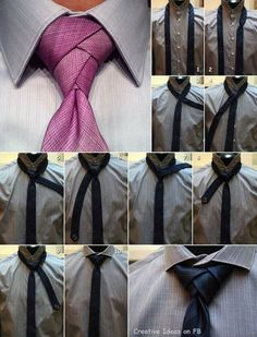 How to Tie a Beautiful Necktie Knot DIY Tutorial | iCreativeIdeas.com Follow Us on Facebook --> https://www.facebook.com/icreativeideas