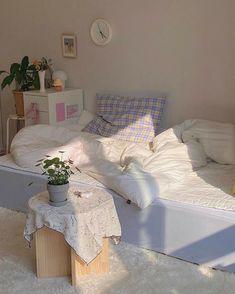 Room Design Bedroom, Room Ideas Bedroom, Bedroom Decor, Bedroom Inspo, Korean Bedroom Ideas, Nursery Design, Cute Room Decor, Pastel Room Decor, Study Room Decor