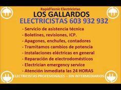 Electricistas LOS GALLARDOS 603 932 932 Baratos