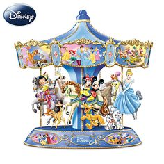 Wonderful World Of Disney Musical Carousel; my kids would love this!