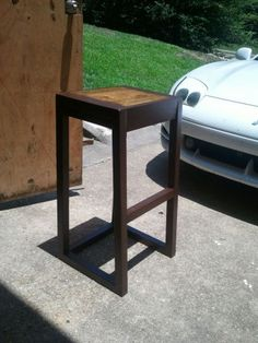 Modern Bar stool | Do It Yourself Home Projects from Ana White
