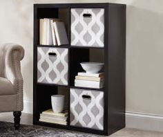 I Found A 6 Cube Black Storage Cubby At Big Lots For Less. Find