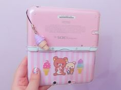 caseyyxo:  I was bored so I decided to make my own 3DS XL case. I think it turned out pretty cute :3