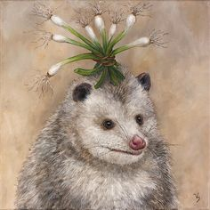 Vicki Sawyer®: Products on Zazzle Animal Paintings, Animal Drawings, Art Drawings, Thing 1, Woodland Creatures, Fantasy Creatures, Sketch Inspiration, Art Reference, Illustration Art