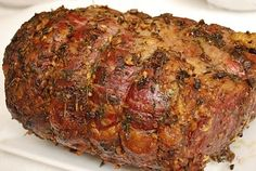 Garlic and herb prime rib roast ~ perfect for Christmas :)