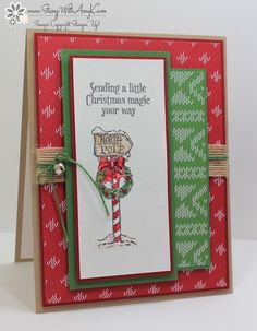 Christmas Magic - Stamp With Amy K