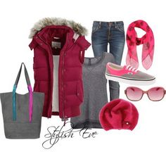 Jean Outfits for Women by Stylish Eve...just not the scarf...I don't like sculls :(