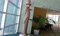The Preacher by Leroy Jackson, Sr. Located in the #USF Marshall Student Center.