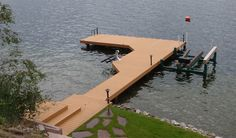 No gap Interlocking wood plastic composite wpc dock deck