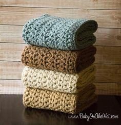 Chunky Crochet Mini Blanket Basket Stuffer Layering Newborn Photopgraphy Photo Prop. $34.00, via Etsy.