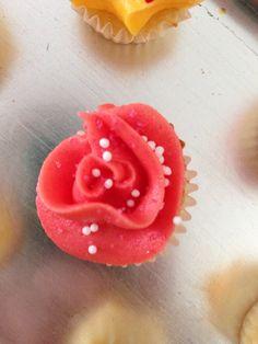 Mini cupcake fraise