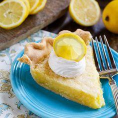 Lemon Chess Pie- an