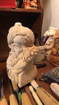 Joe Land carving