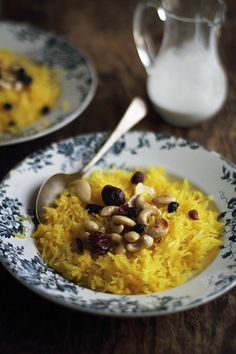 Journey Kitchen: Zarda - Sweet Saffron Rice - Guest Post for Shayma of The Spice Spoon
