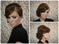 The Freckled Fox : Holiday Hair Week - Tutorial #7: The Twisted Sidebun