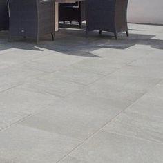 Ideas Cement Patio Ideas On A Budget Backyards Decks Garden Slabs, Garden Tiles, Patio Slabs, Cement Patio, Patio Tiles, Garden Paving, Flagstone Patio, Pergola Patio, Backyard Patio