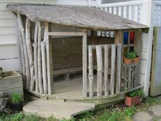 Outdoor reggio. Love the natural simple elements. Can we build this?