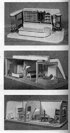 altes puppenhaus moritz gottschalk 50er 60er jahre ca 91cm breite xca 47cm h he in antiquit ten. Black Bedroom Furniture Sets. Home Design Ideas