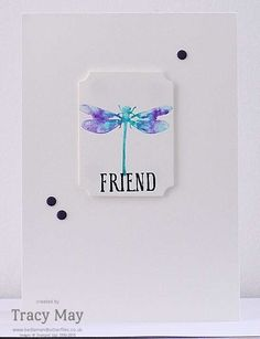 Awesomely Artistic from Stampin' Up! Independent Demonstrator Tracy May Clean and Simple Cards