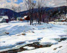 Aldro Hibbard, Winter Stream