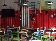 http://www.fabbrica-muenchen.com Impressionen La Fabbrica #Pizza #Maxvorstadt