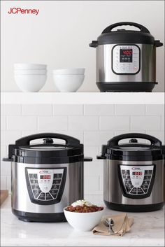 Instant pots and pressure cookers make it easy to feed the masses without the long wait time. Invite a whole crowd over—these small electrics can help you get the job done with little effort. Grilling Recipes, Fish Recipes, Crockpot Recipes, Soup Recipes, Instant Pot Pressure Cooker, Pressure Cooker Recipes, Pressure Cooking, Cooking Tips, Cooking Recipes