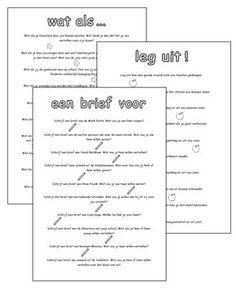 Lessen van Lisa - Schrijven Dagelijkse schrijfopdrachten