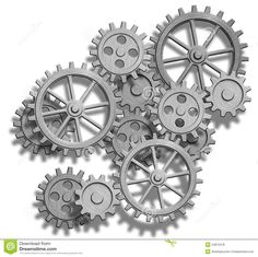 Abstract mechanical gears on white. Abstract clockwork gears on , Gear Drawing, Tattoo Caveira, Gear Tattoo, Steampunk Drawing, Mechanic Tattoo, Mechanical Gears, Clock Tattoo Design, Gear Wheels, Geniale Tattoos