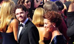 the king went to the emmys with his mother? Richard Madden x Michelle Fairley