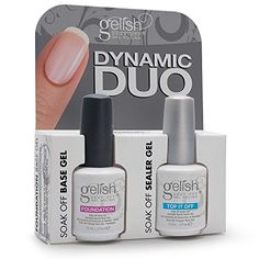 Find Harmony Gelish Dynamic Duo Soak-Off Gel Polish Foundation + Top It Off online. Shop the latest collection of Harmony Gelish Dynamic Duo Soak-Off Gel Polish Foundation + Top It Off from the popular stores - all in one Gelish Nails, Uv Nails, Gel Nail Polish, Nail Polishes, Best Makeup Brushes, Makeup Brush Set, Best Makeup Products, Beauty Products, Beard Growth Kit