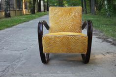 Jindrich Halabala for the UP Zavody company – renovated 'H269' lounge chair