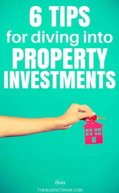Real estate investing can be a scary thing. Use these six tips to help you get started on building a property portfolio - the right way! - The Budget Mom Investing Money, Real Estate Investing, Money Tips, Money Saving Tips, Money Hacks, Getting Into Real Estate, Investment Property, Investment Tips, Income Property