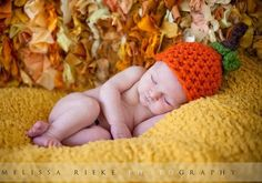 Newborn Hat Pumpkin