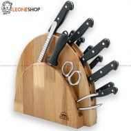 All the Best selection of DUE CIGNI Maniago kitchen knives blocks, wooden cutting boards, unique and elegant gift ideas, DUE CIGNI Maniago kitchen knives blocks of very high quality and rigorously Made in Italy for sale online on our online store, buy online your professional kitchen knife block and many other gift ideas Italian. Warranty and quality of the products of DUE CIGNI Cutlery of Maniago.
