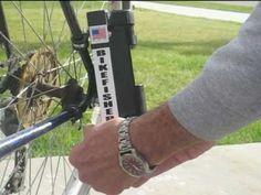 Bike Fisherman - Fishing Rod Holder, Fishing Gifts, Fishing Accessories,...