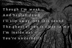 Goner by twenty one pilots l-/ omg learn how to spell please underneath***