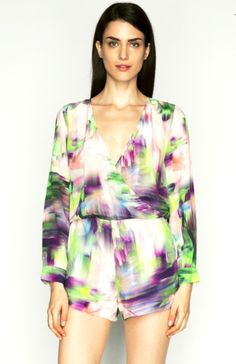 Talulah Skip a Beat Playsuit on www.pinkluxe.com.au