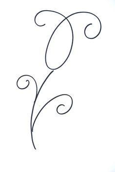 Lettering- Line drawing- Motivation: How to draw flowers 8