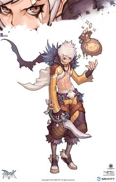 ✧ #characterconcepts ✧ Rogue in Ragnarok Online 2: Legend of the Second - MMORPG