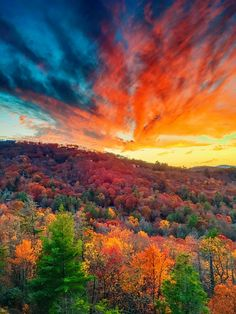 Fall in Highlands, North Carolina. One of the world's Top 10 Sunset Spots! www.TexasTrim.net to lose up to 40 lbs in 60-days!