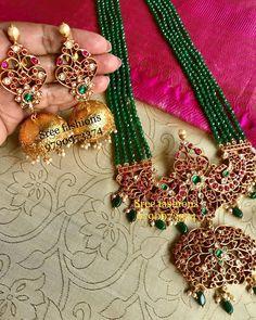 Beads Jewellery Necklace Online India concerning Beaded Jewelry Repair despite Jewelers Exchange Boca below Artificial Kundan Jewellery Near Me Gold Jewellery Design, Bead Jewellery, Beaded Jewelry, Beaded Necklace, Tikka Jewelry, Temple Jewellery, Fashion Jewellery, Designer Jewelry, Jewelry Necklaces