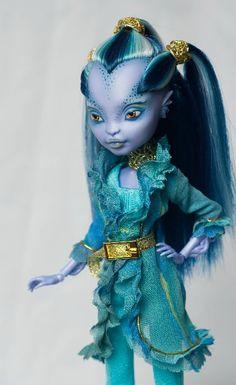by SELESTA. custom monster high doll