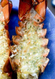 Grilled Lobster Tails with Garlic Butter - Recipe Diaries - FREYA Grilling Recipes, Fish Recipes, Seafood Recipes, Cooking Recipes, Healthy Recipes, Grilled Lobster Recipes, Grill Lobster Tail Recipe, Lobster Tails, Lobster Dishes