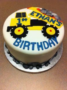 tonka truck cake