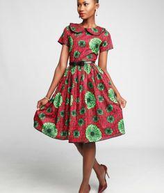 NEEMA ~African fashion, Ankara, kitenge, African women dresses, African prints, Braids, Nigerian wedding, Ghanaian fashion, African wedding ~DKK