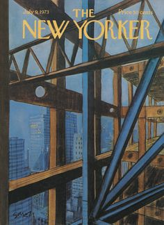 The New Yorker - Monday, July 9, 1973 - Issue # 2525 - Vol. 49 - N° 20 - Cover by : Charles Saxon