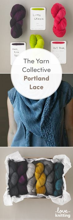 Portland Lace is spun from the softest merino wool making it luxuriously gentle on the skin. This Lace weight yarn will create a wonderfully soft handle that is suitable for all types of knitting and crochet. Explore our line at LoveKnitting.Com